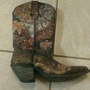 Durango Metallic Cowboy Boots